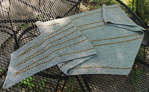 Waterline Shawl by Laura Aylor