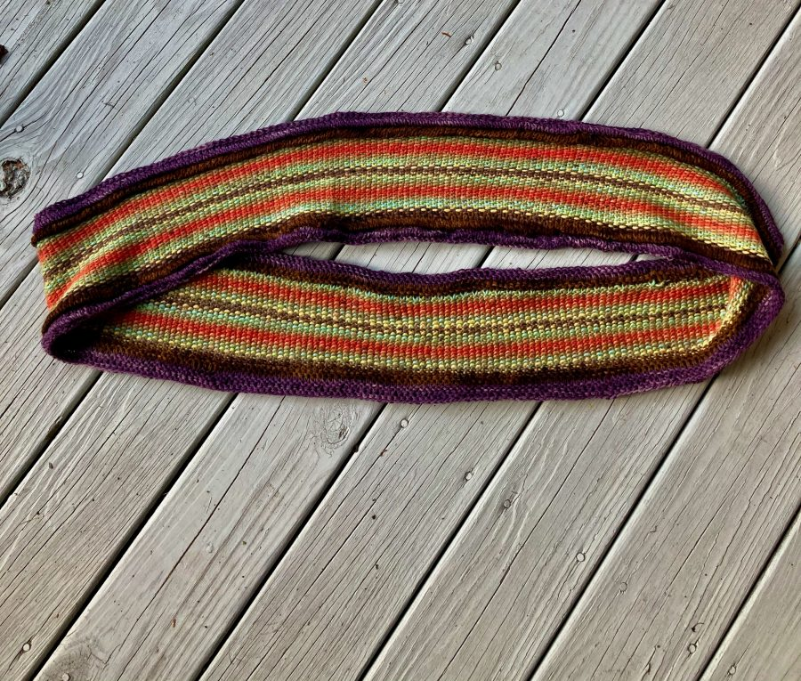 Linen Stitch Corded Cowl 08-21-20 04