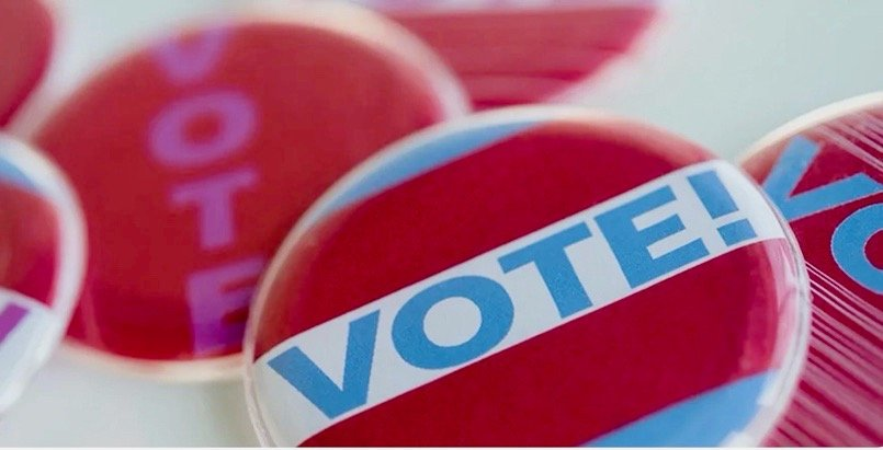 Just Vote - Pin-Back Buttons Vote