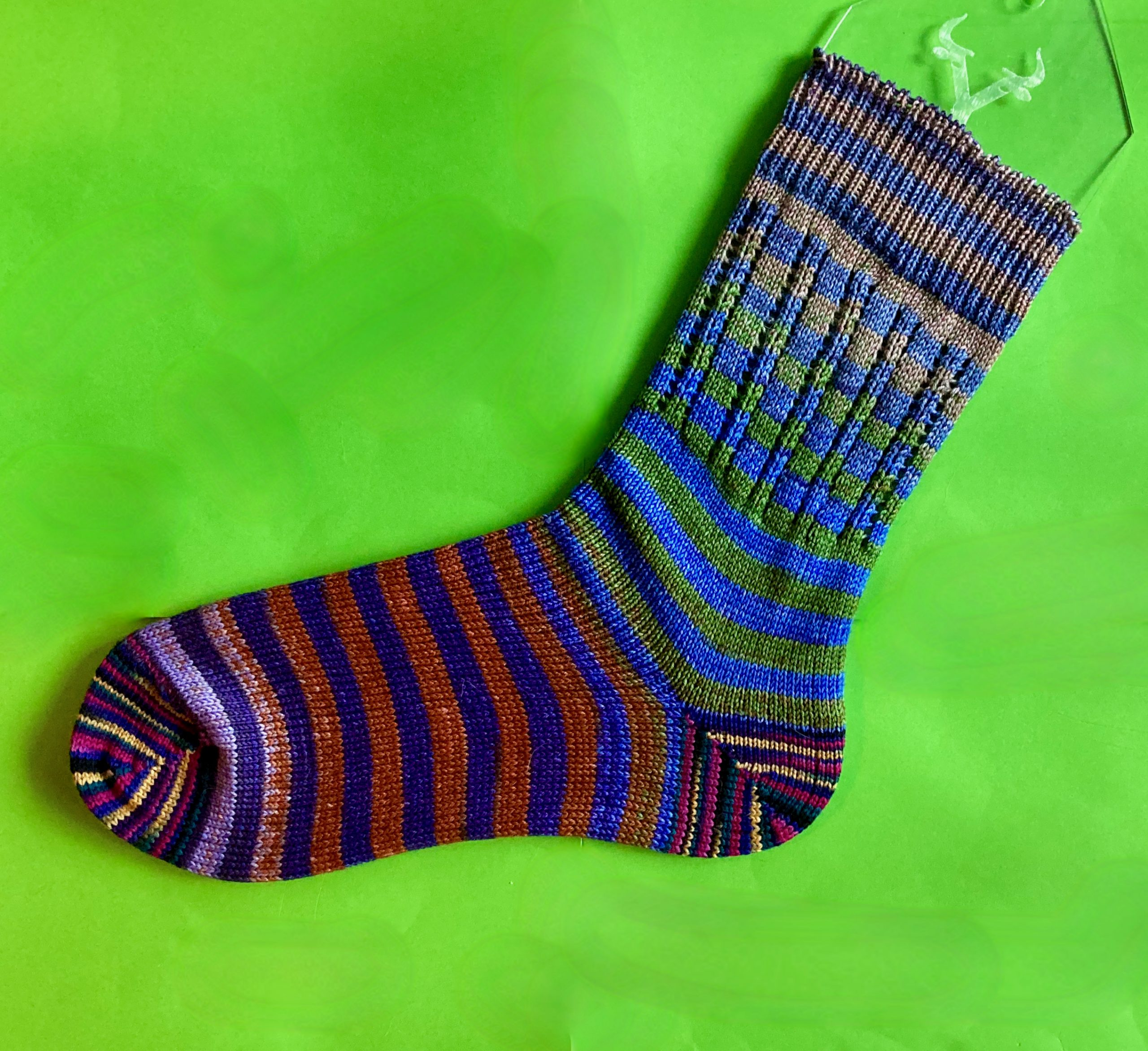 Back to Cranking - Offset Striped CSM Sock 11-20-20 04