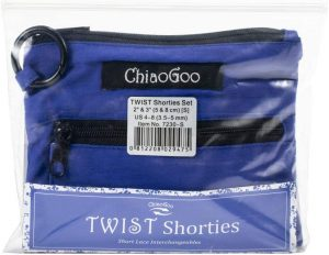ChiaGoo Twist Shorties Interchangeable