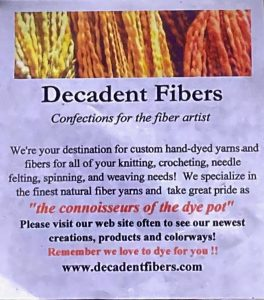 Decadent Fibers Note Paper