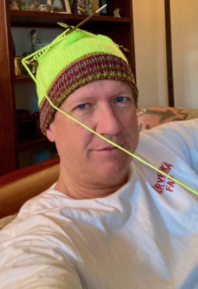 Knitting Blogs - Still A Thing - QueerJoe Hunter Cap With Uneek Brim 12-27-20 01