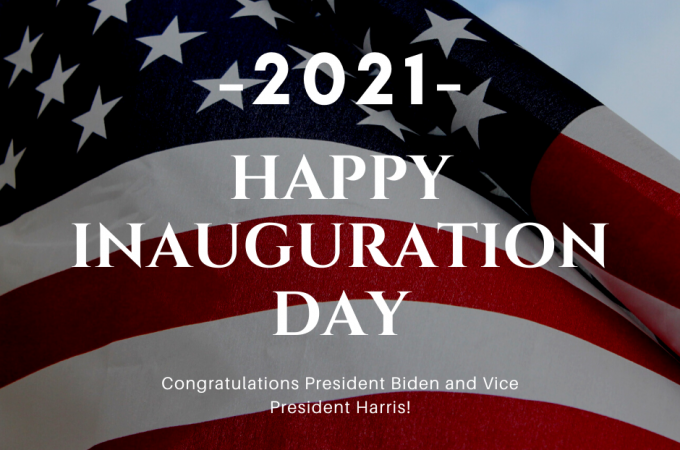 Happy Inauguration Day!!