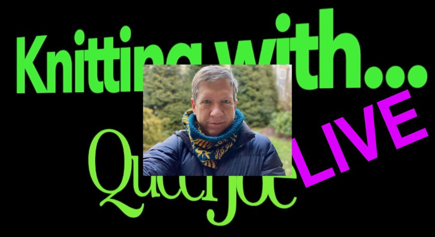 Knitting With QueerJoe LIVE and Sankofa