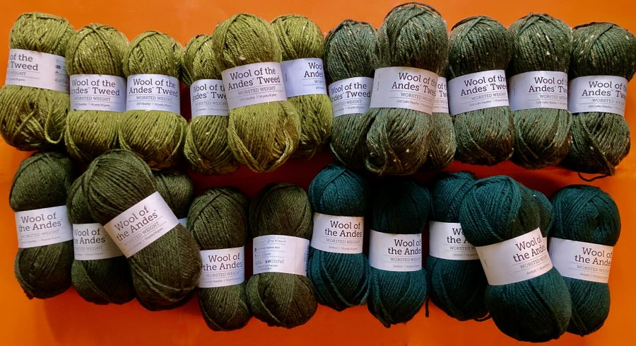 KnitPicks Wool of the Andes Yarn Greens 03-17-21 01