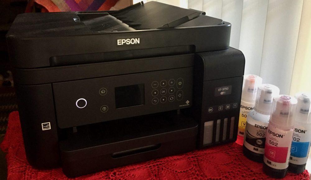 Mystery Printer That Wouldn't Print Orange - Epson ET-3750 Ink Tank Printer