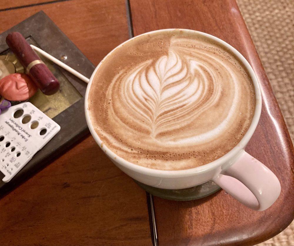 A Good Omen Latte Art 05-17-21