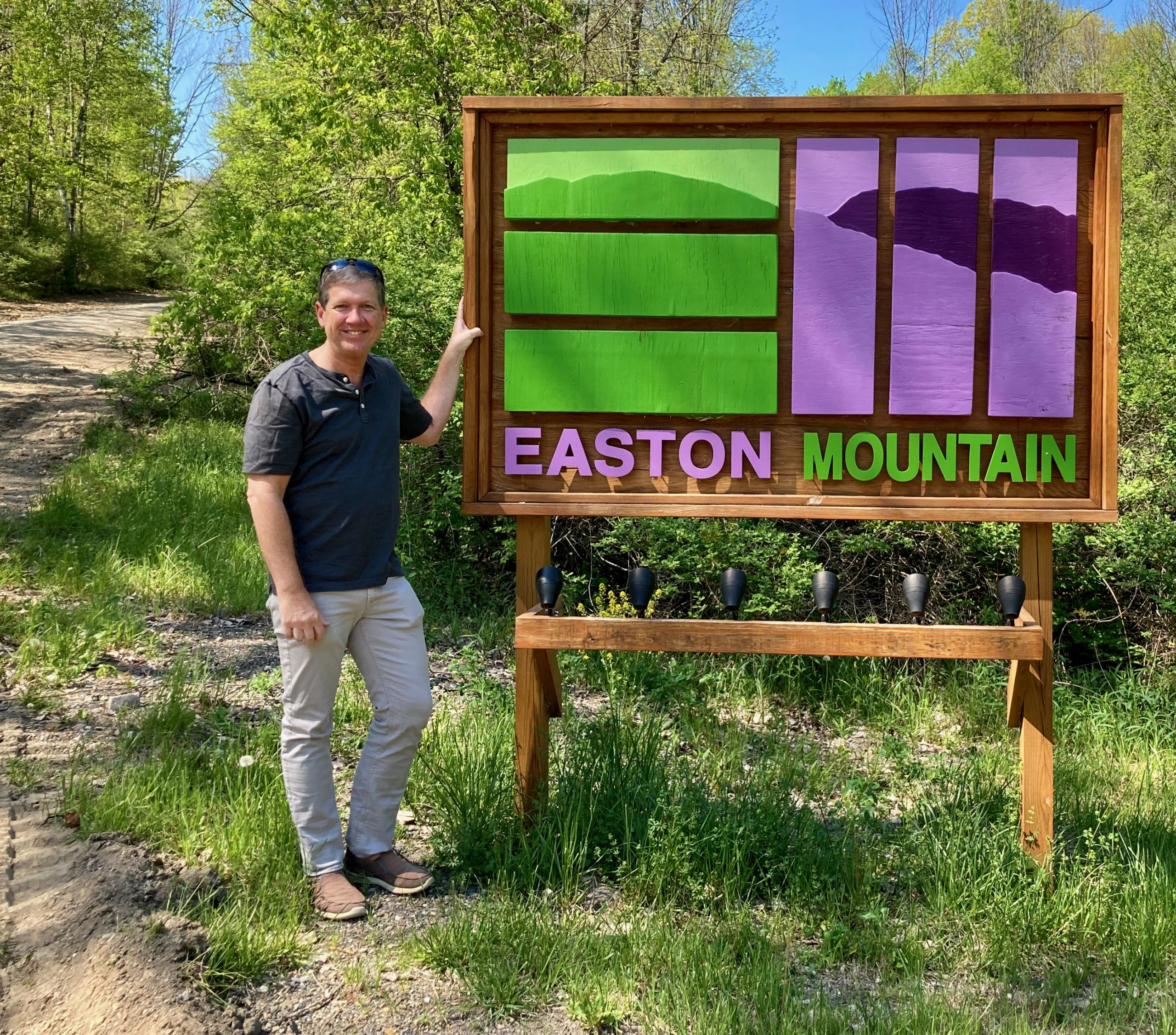 Location-Location-Location MSKR 2021 - Arrival Easton Mountain Sign