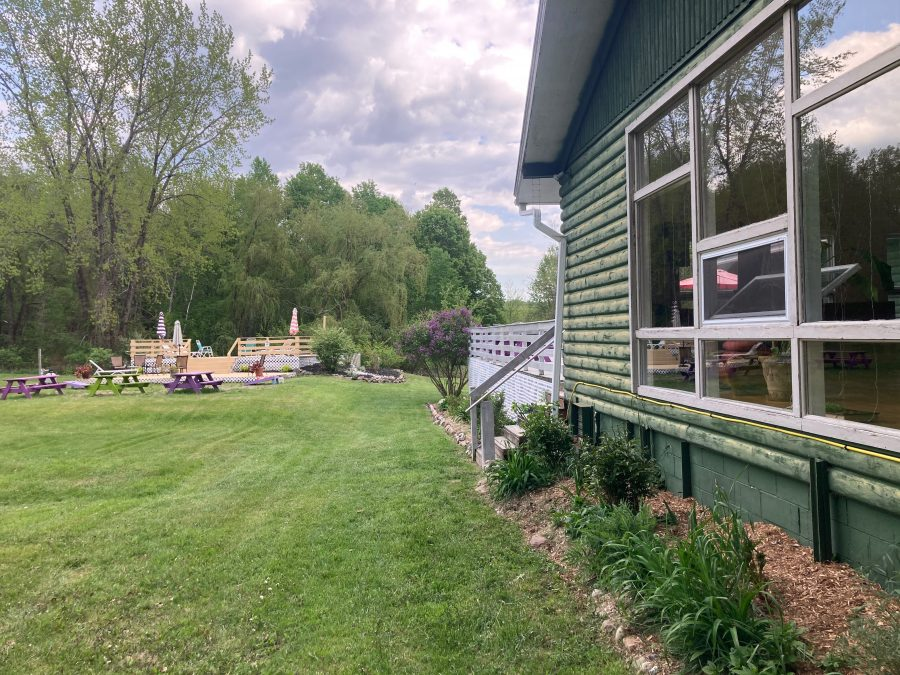 MSKR 2021 - Easton Mountain back yard