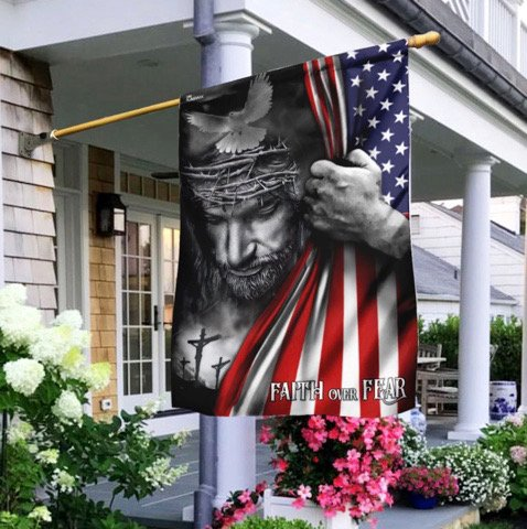 You Are An Abomination Christ Flag Monstrosity
