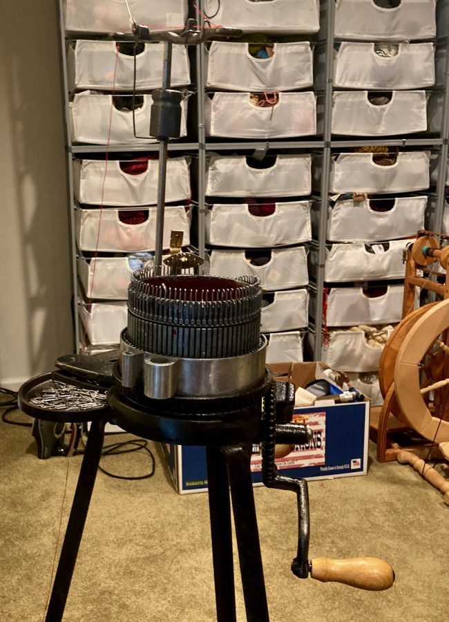 Circular Sock Knitting Machine Gearhart 1925 ish