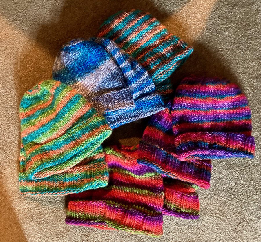 Colorful Hats All Ten