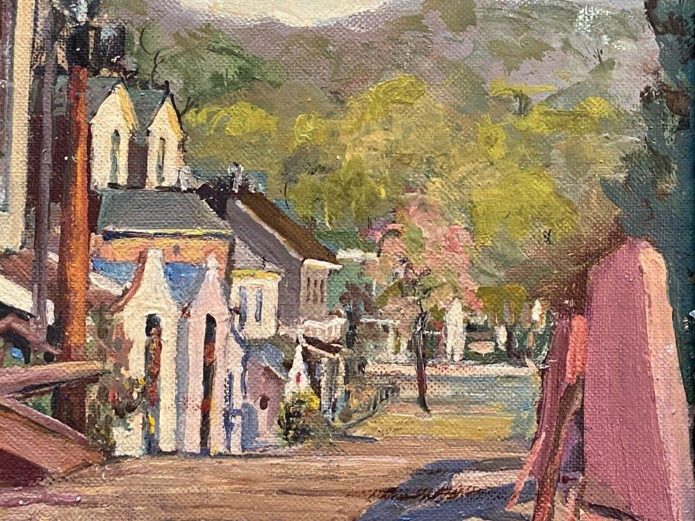 Very Visual - Helen-Stockton-New-Hope-Bucks-County-Impressionist-Oil1930s-_57