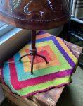 Ten Stitch Tunisian Crochet blanket 06-11-21 01
