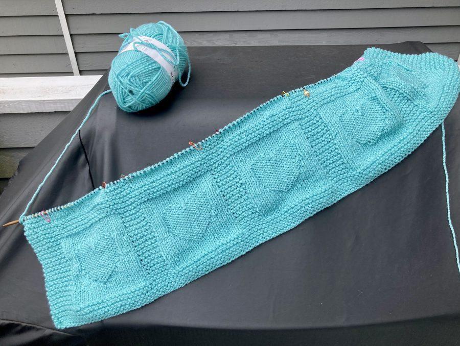 Hearts Baby Blanket - 07-19-21 02