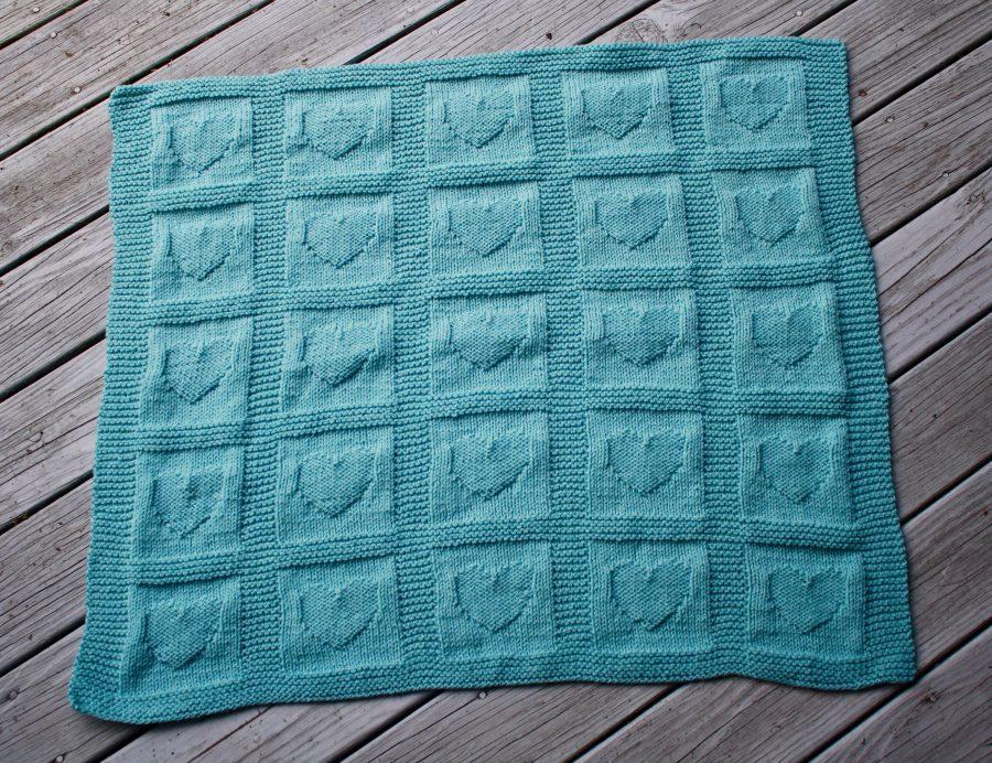 Hearts Baby Blanket 07-26-21 01
