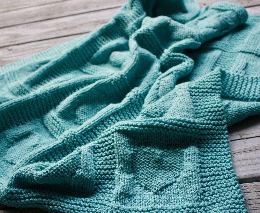 Hearts Baby Blanket 07-26-21 02