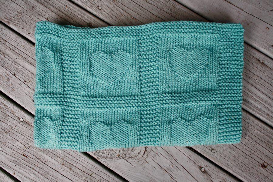 Hearts Baby Blanket 07-26-21 04