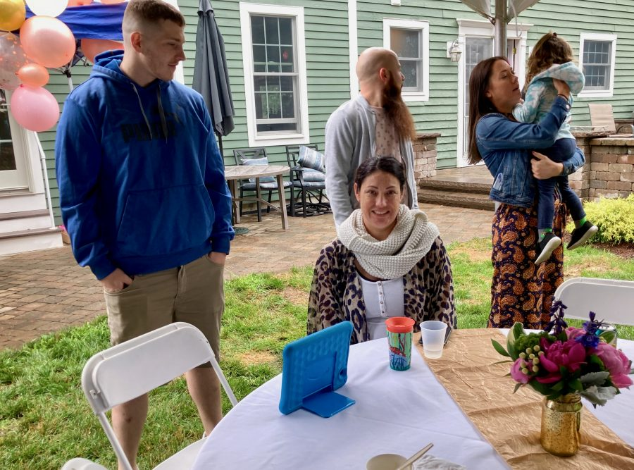 Mom's Party 07-03-21 Jake Meghan Josh Kelly Audrey