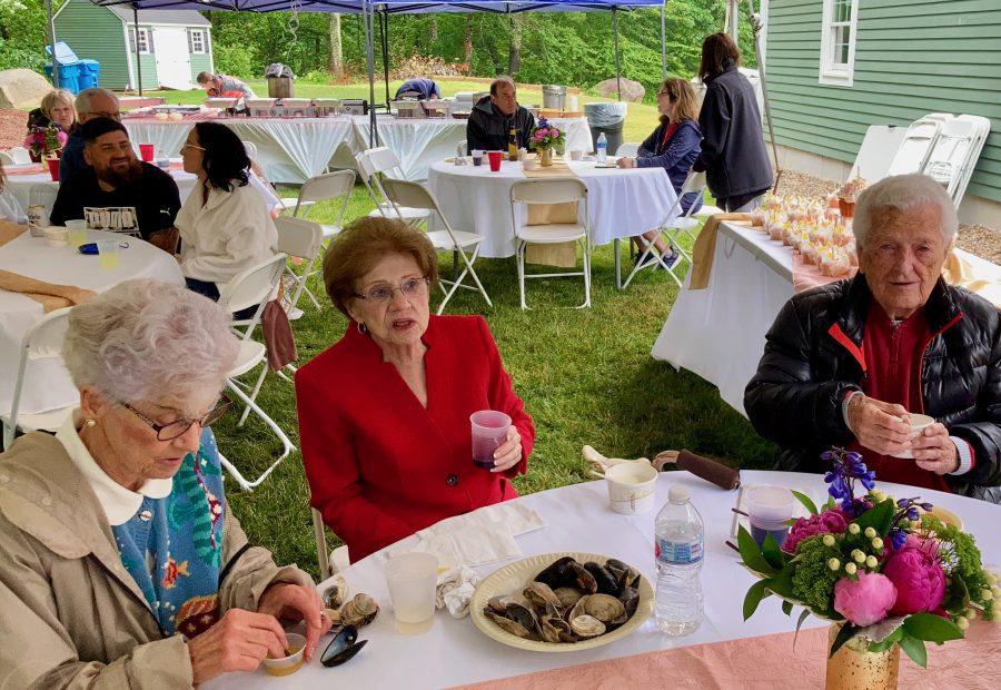 Mom's Party 07-03-21 Marybeth Gloria and Bob Gray