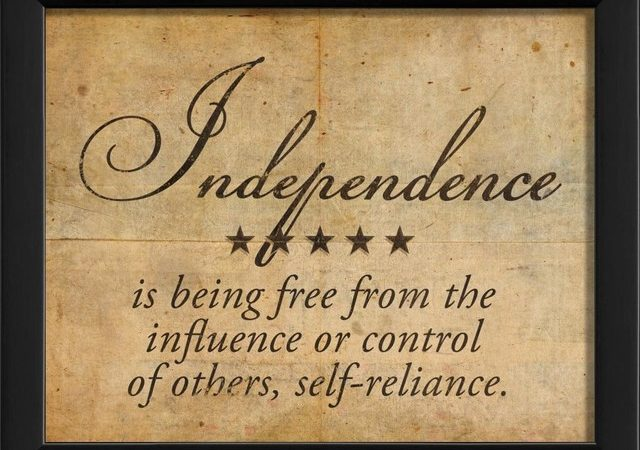 What Independence Means