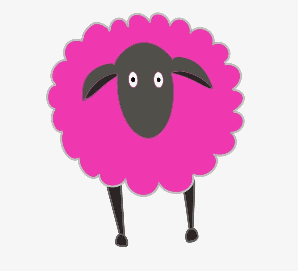 I Am A Changed Man - iPad Sheep Pink