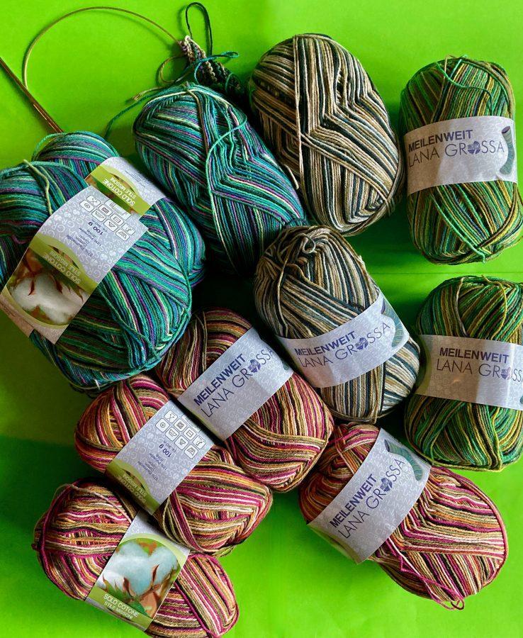 Yarn - Lana Grossa Meilenweit Sock 08-09-21 01