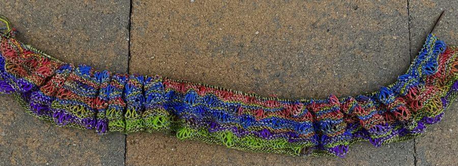 Bright Lizard Scarf 09-19-21 01