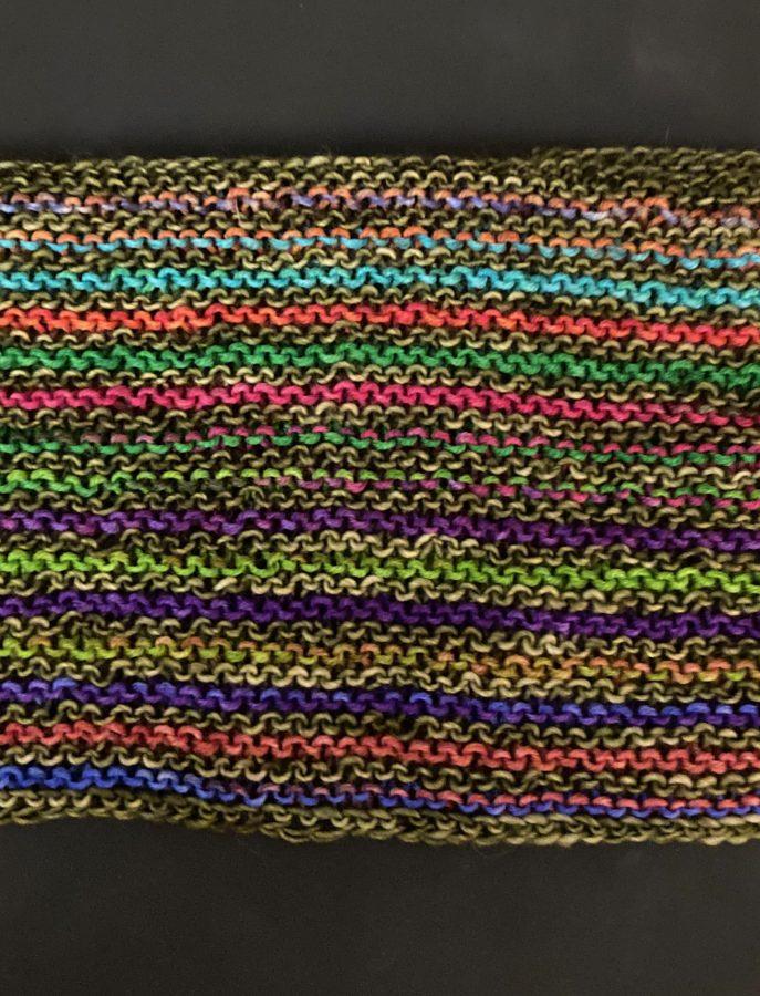 Garter Striped Scarf 10-04-21 04