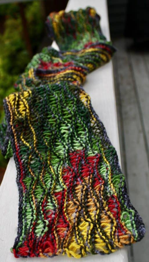 Bright Lizard Scarf 06-14-17 02