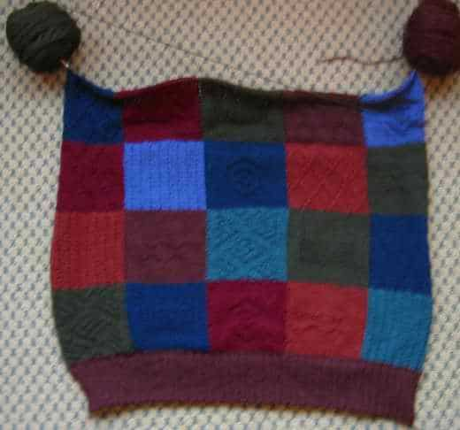 Chock-a-Block Cardigan 03-24-03