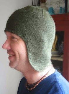 Spectrum of Knitting Geekdom - Earflap Cap Joe