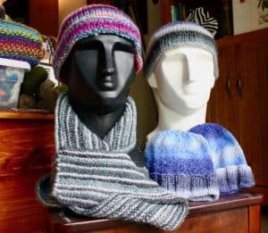 Hats and scarf 01