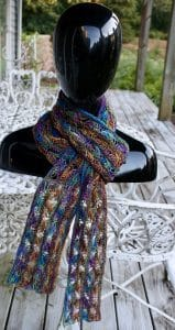 Koigu Cross Stitch Scarf