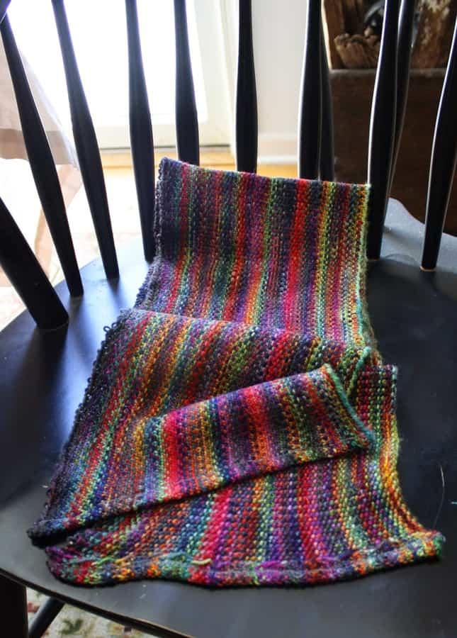 Koigu Linen Scarf Finished Sewn copy