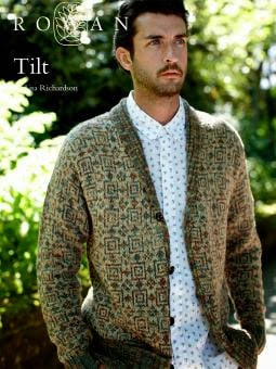 Tilt Cardigan Pattern Cover Photo