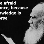 Tolstoy Ignorance